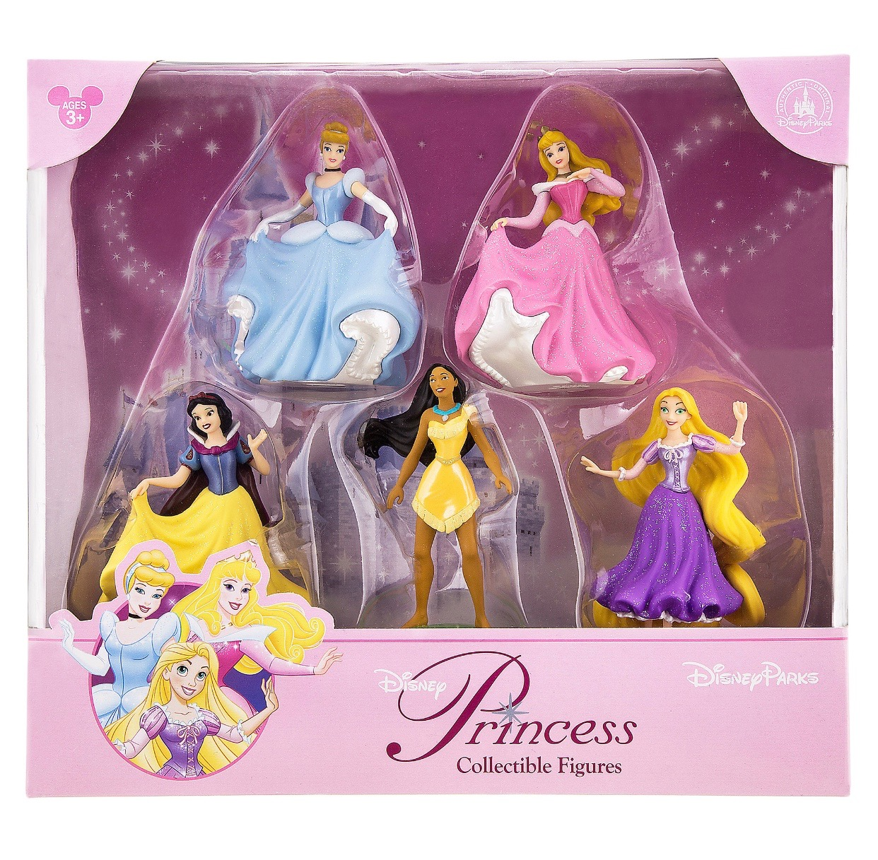 2ccb5ef7cda disney parks princesses aurora rapunzel figure cake topper playset new with  box 3 3 of 3 See More