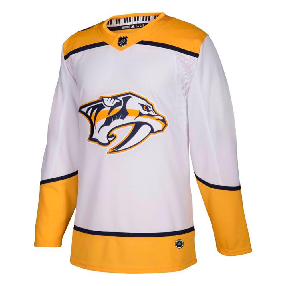 05cdb4e8223 Details about Nashville Predators Adidas Authentic Pro Away Hockey Jersey