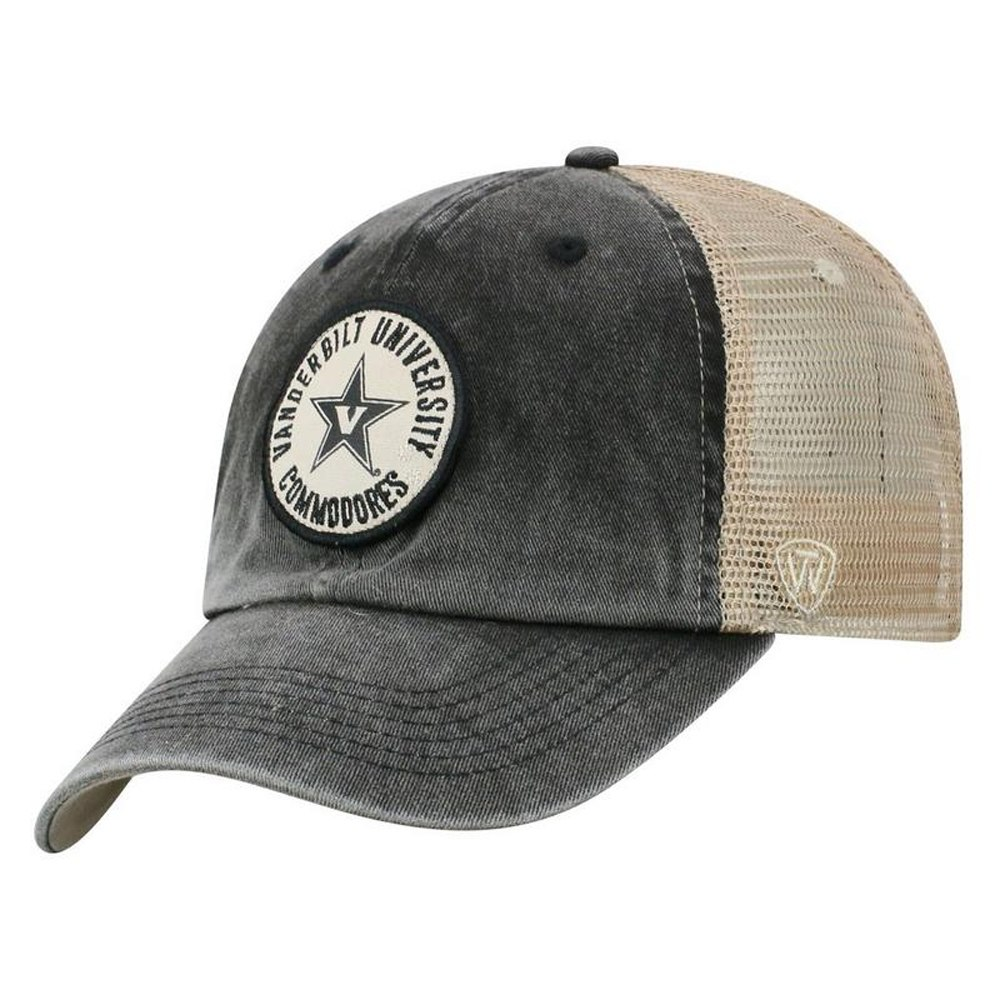 Commodores Ultimate Collection: Vanderbilt Commodores Keepsake Adjustable Mesh Back Cap