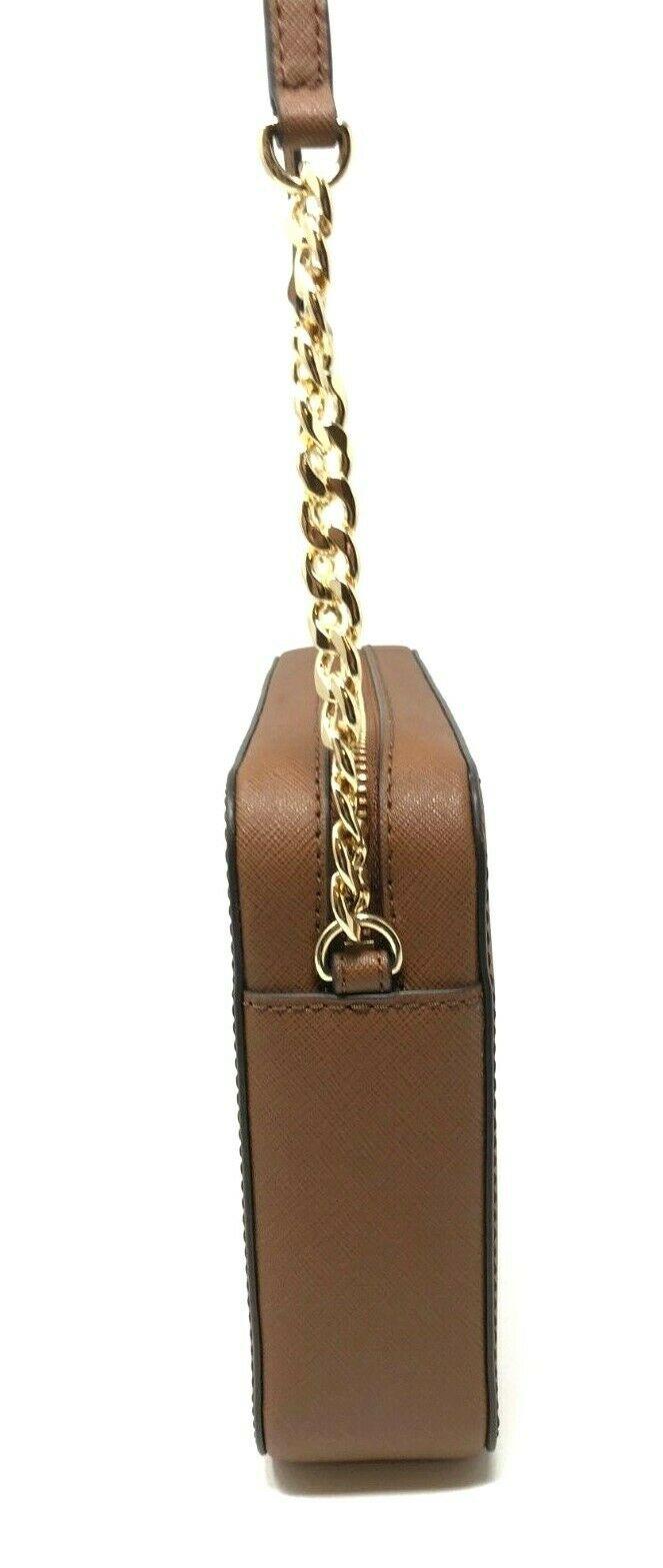 thumbnail 10 - Michael Kors Jet Set Item Large East West Crossbody Chain Handbag Clutch $298