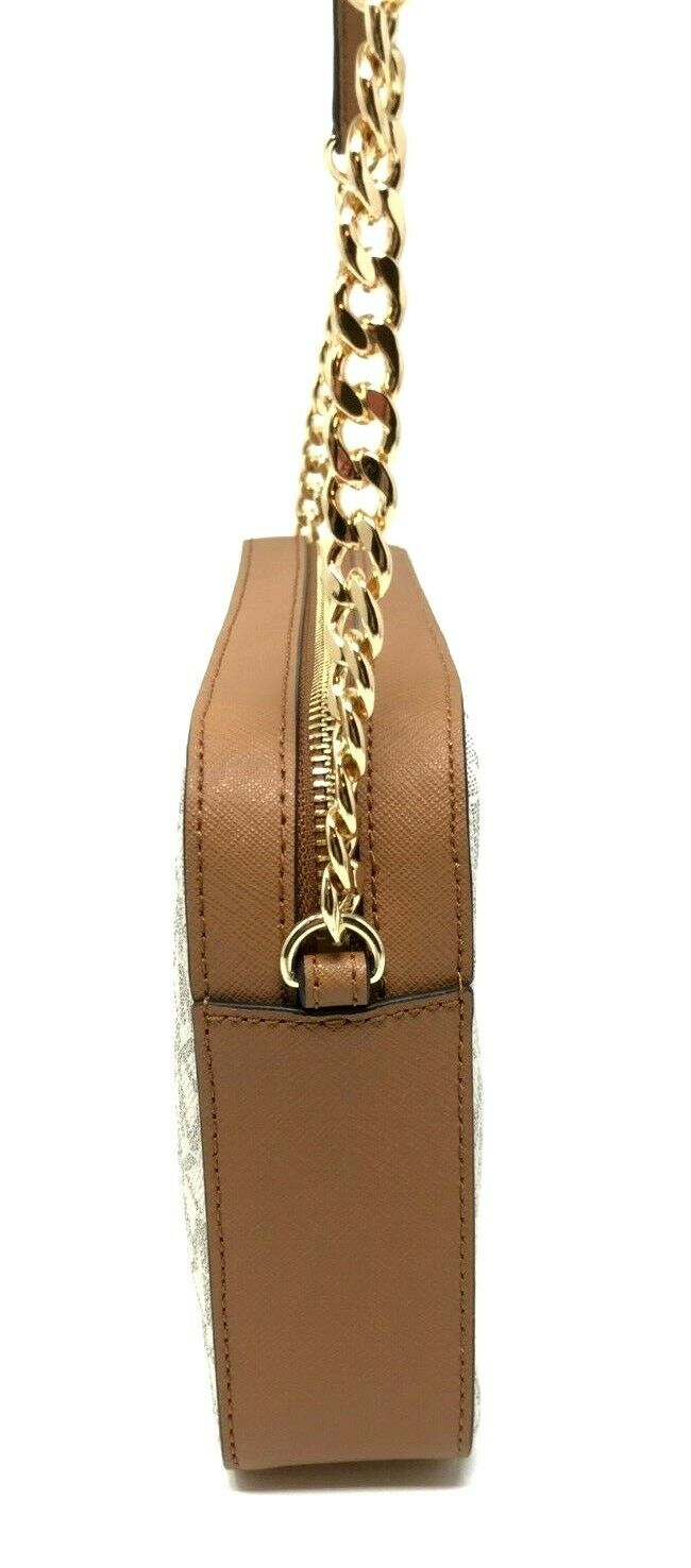 thumbnail 77 - Michael Kors Jet Set Item Large East West Crossbody Chain Handbag Clutch $298