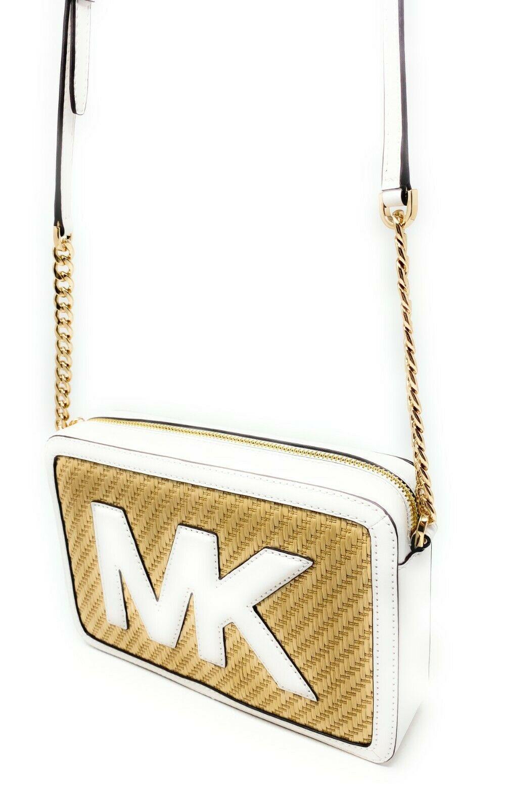 thumbnail 21 - Michael Kors Jet Set Item Large East West Crossbody Chain Handbag Clutch $298