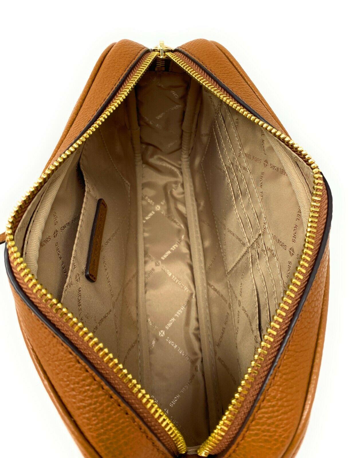 thumbnail 37 - Michael Kors Jet Set Item Large East West Crossbody Chain Handbag Clutch $298
