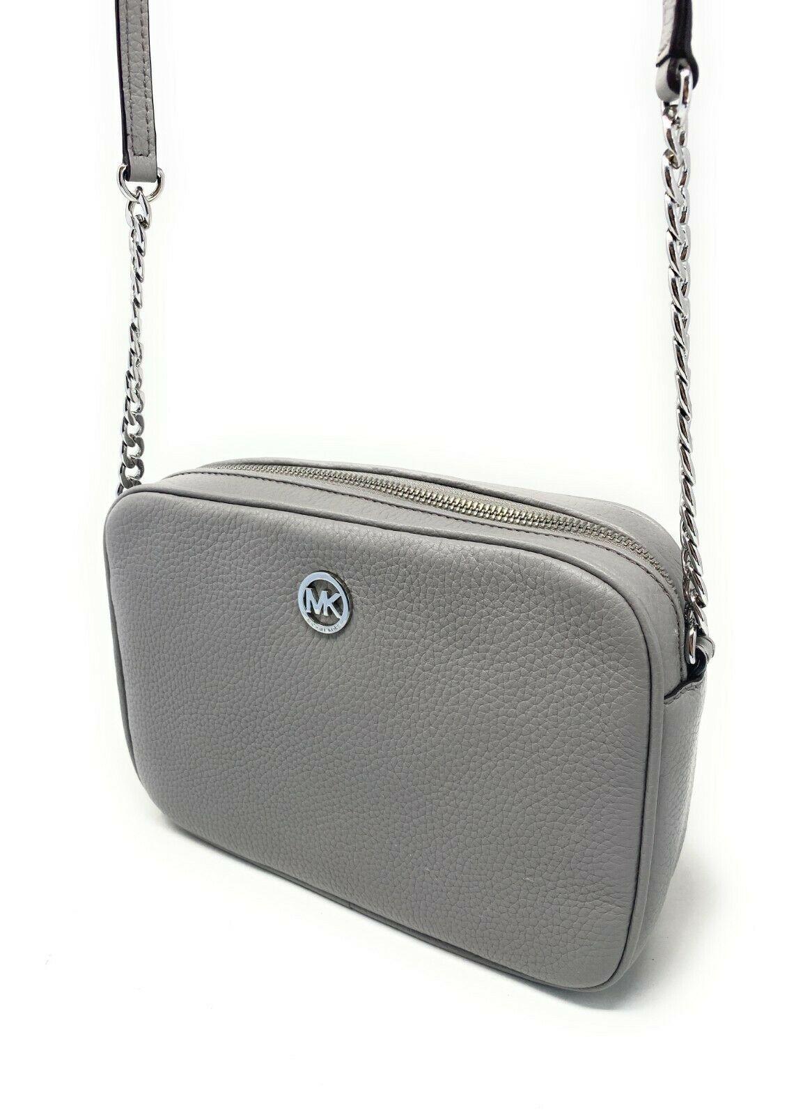 thumbnail 57 - Michael Kors Jet Set Item Large East West Crossbody Chain Handbag Clutch $298