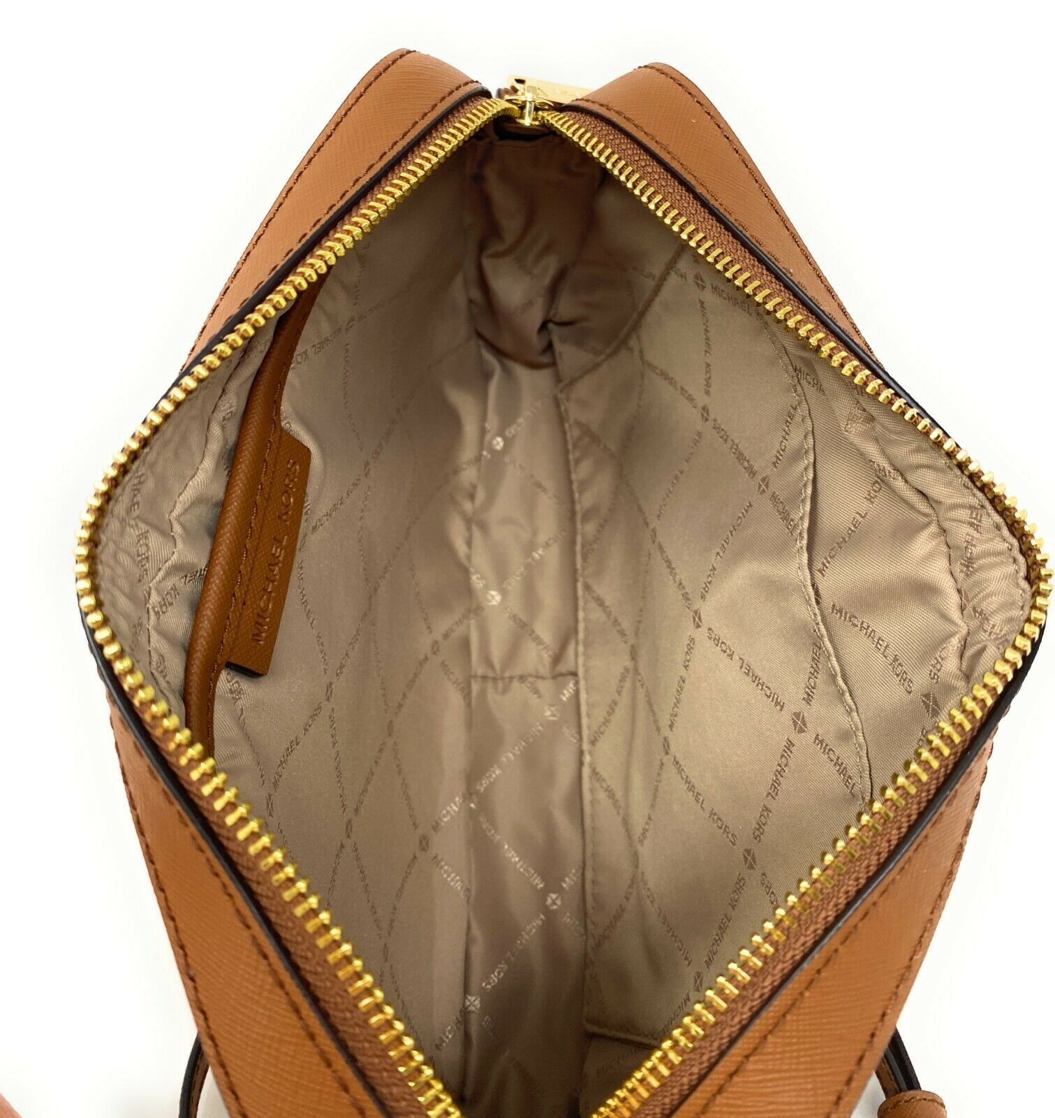 thumbnail 73 - Michael Kors Jet Set Item Large East West Crossbody Chain Handbag Clutch $298