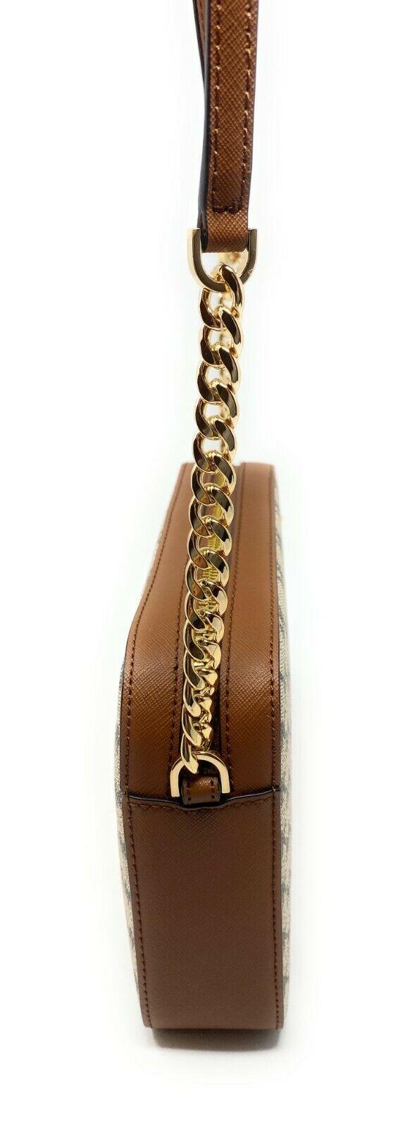 thumbnail 70 - Michael Kors Jet Set Item Large East West Crossbody Chain Handbag Clutch $298