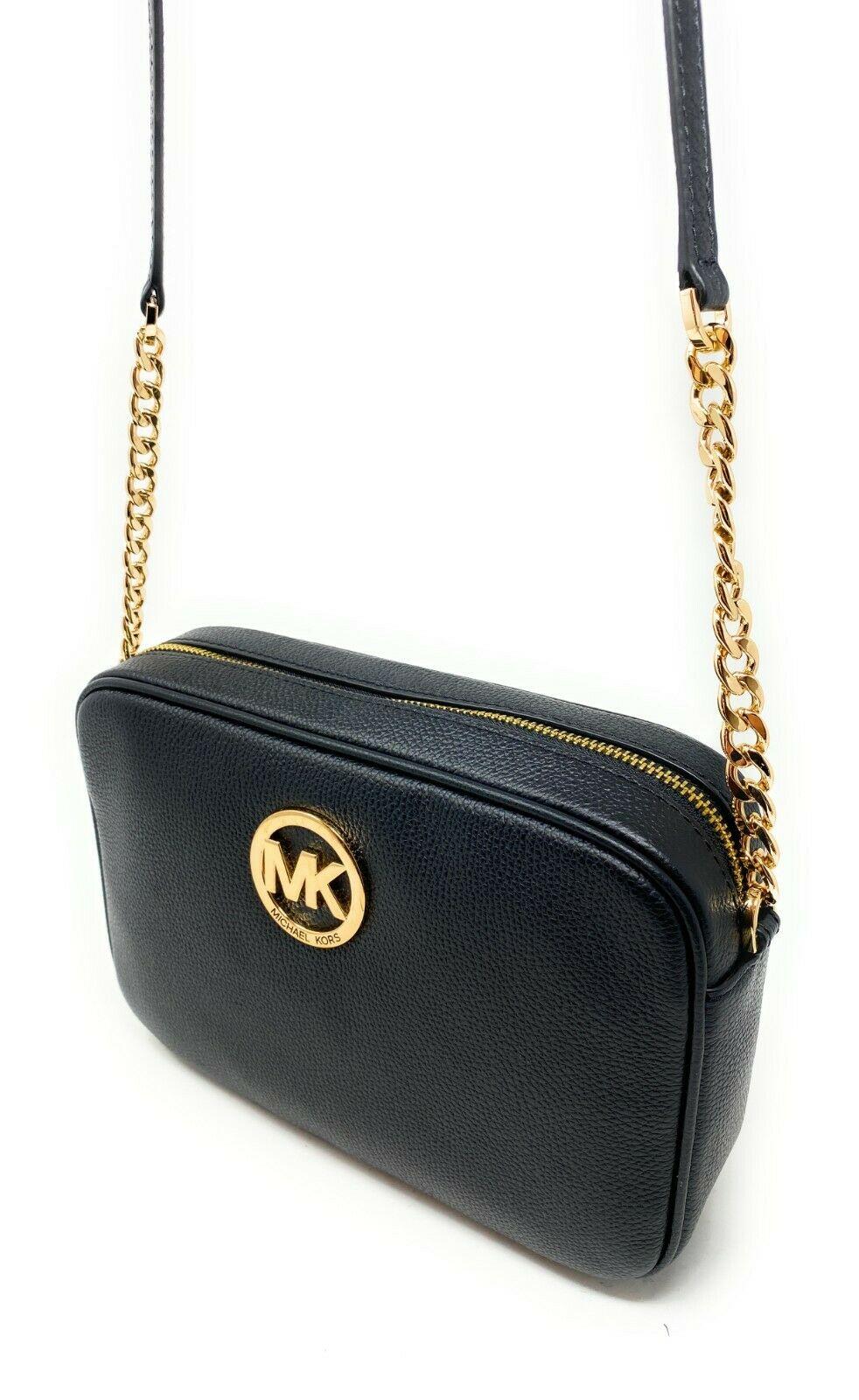 thumbnail 93 - Michael Kors Jet Set Item Large East West Crossbody Chain Handbag Clutch $298