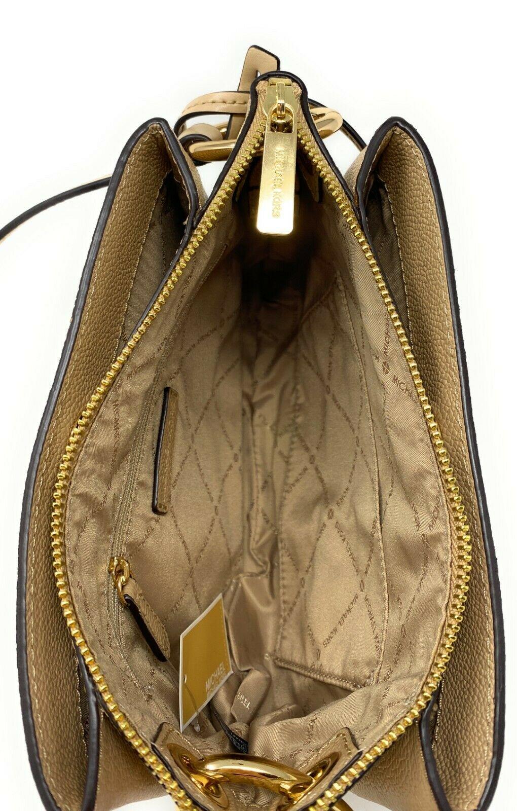 thumbnail 7 - Michael Kors Nicole Large Triple Compartment Crossbody Bag MK Purse