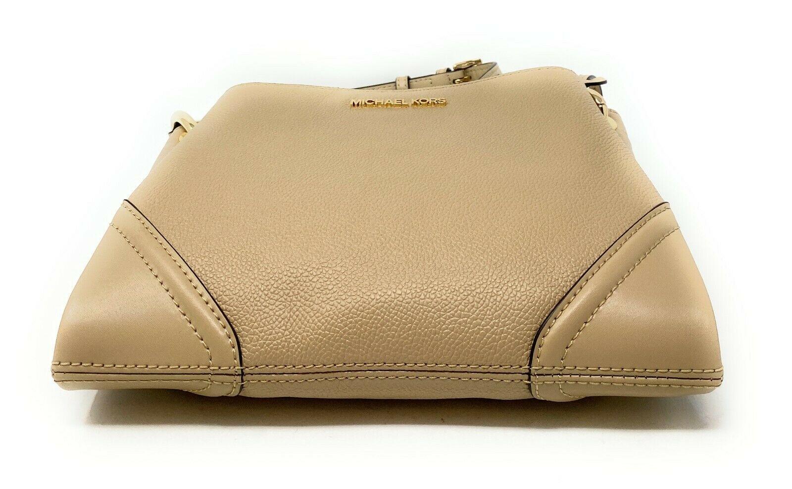 thumbnail 6 - Michael Kors Nicole Large Triple Compartment Crossbody Bag MK Purse