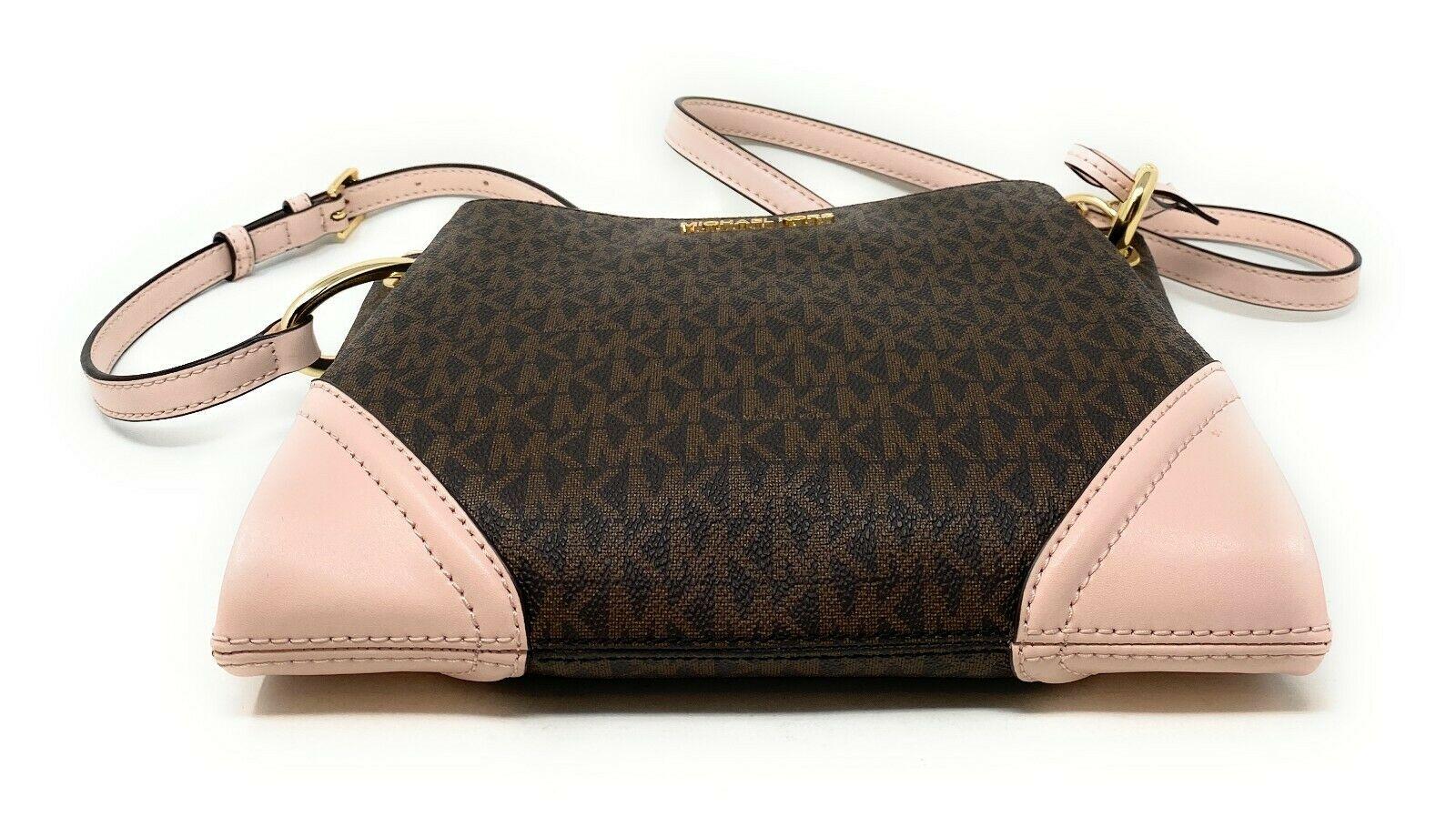 thumbnail 12 - Michael Kors Nicole Large Triple Compartment Crossbody Bag MK Purse