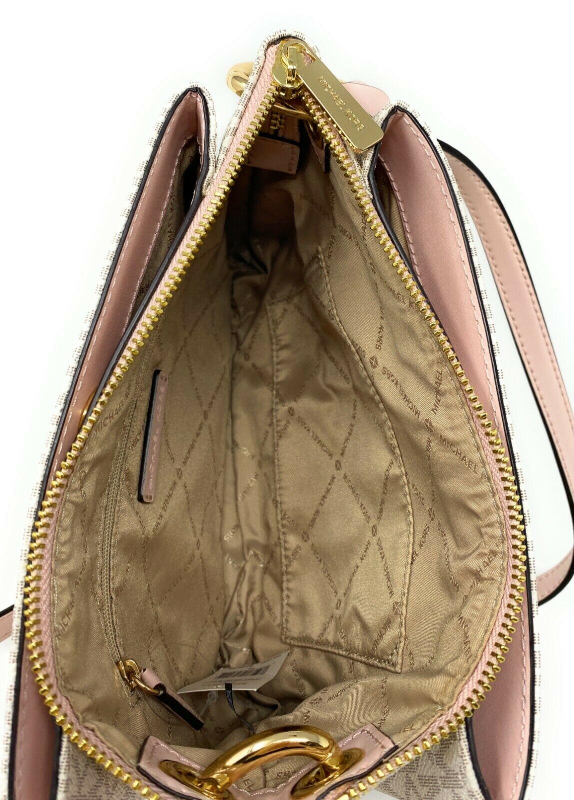 thumbnail 19 - Michael Kors Nicole Large Triple Compartment Crossbody Bag MK Purse