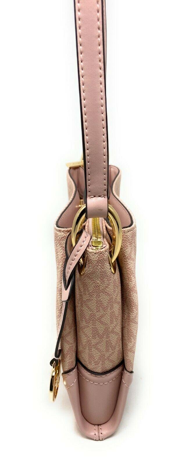 thumbnail 22 - Michael Kors Nicole Large Triple Compartment Crossbody Bag MK Purse