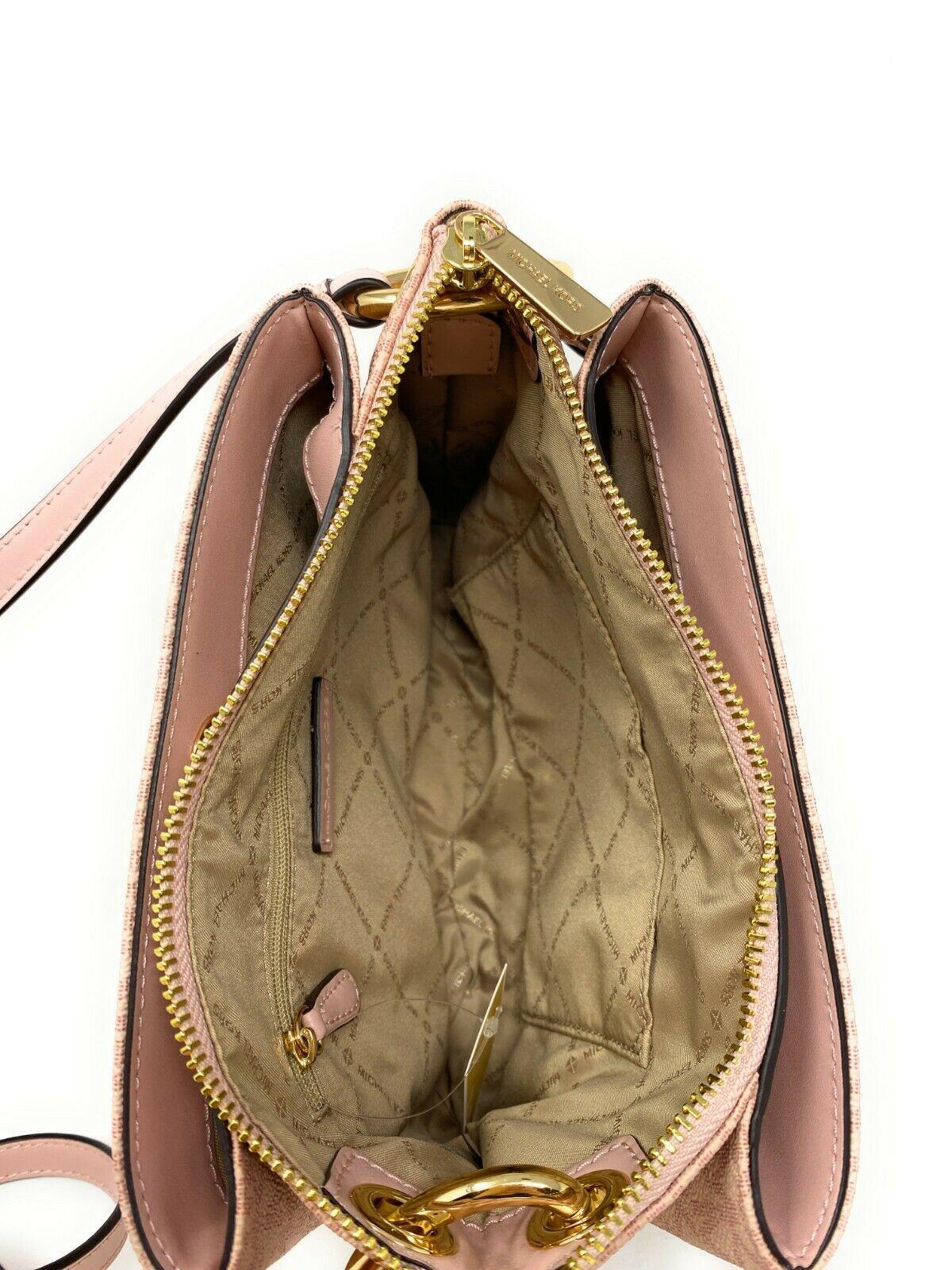 thumbnail 25 - Michael Kors Nicole Large Triple Compartment Crossbody Bag MK Purse