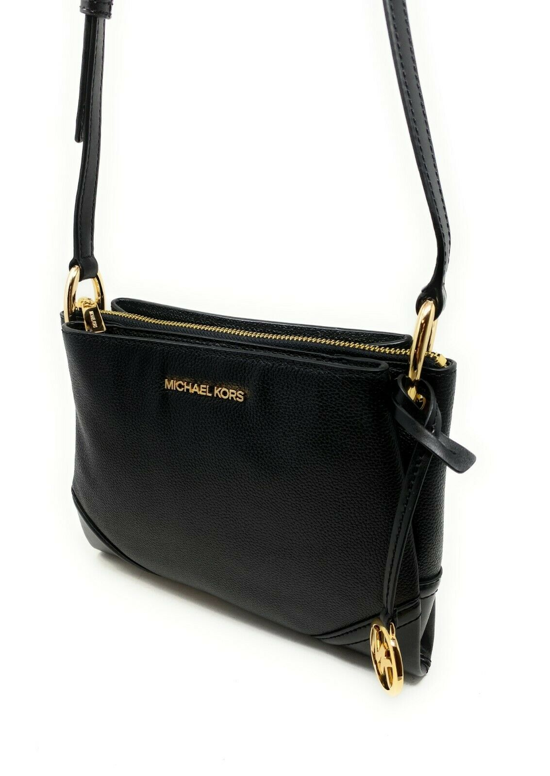 thumbnail 27 - Michael Kors Nicole Large Triple Compartment Crossbody Bag MK Purse