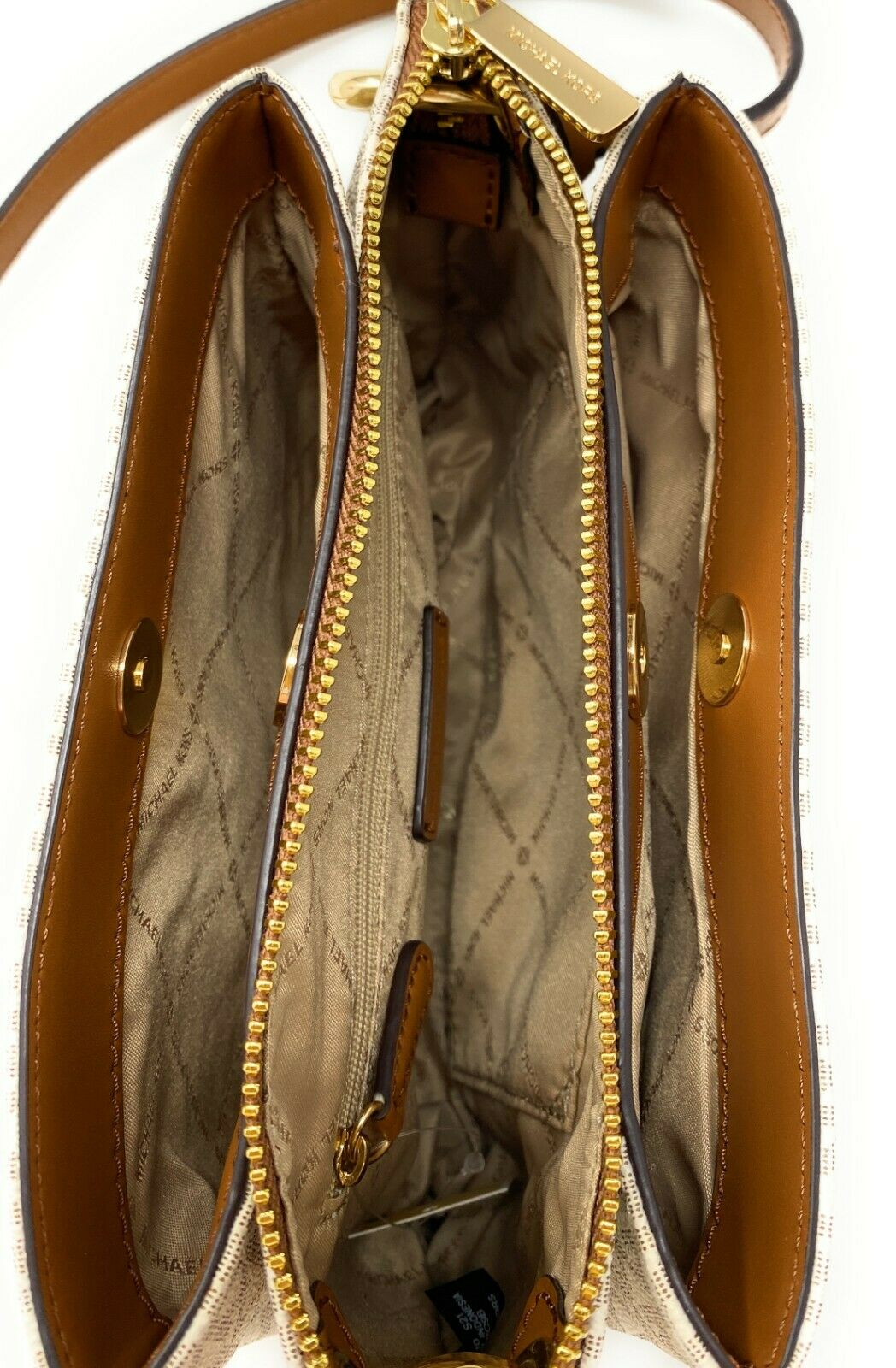 thumbnail 43 - Michael Kors Nicole Large Triple Compartment Crossbody Bag MK Purse