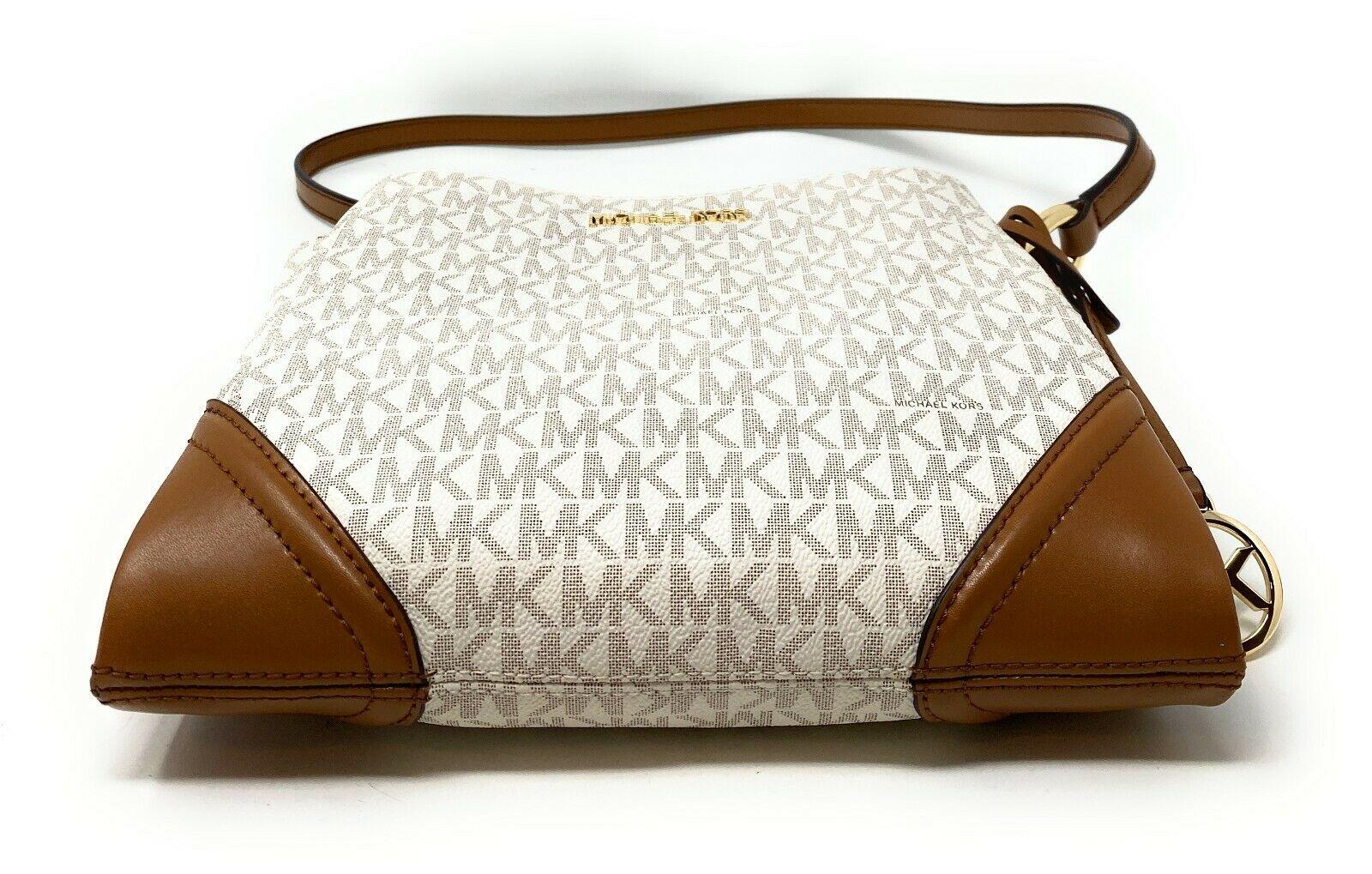 thumbnail 42 - Michael Kors Nicole Large Triple Compartment Crossbody Bag MK Purse