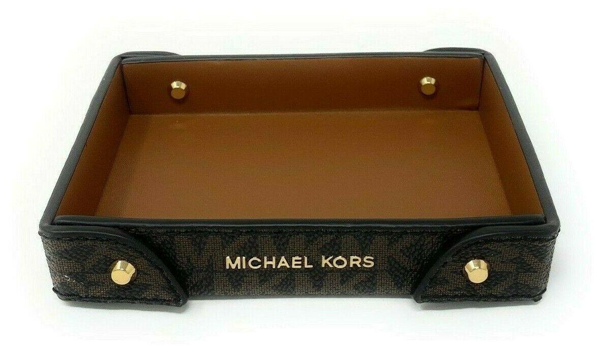 thumbnail 2 - Michael Kors Small Logo Travel Tray Signature Monogram (Select Color)