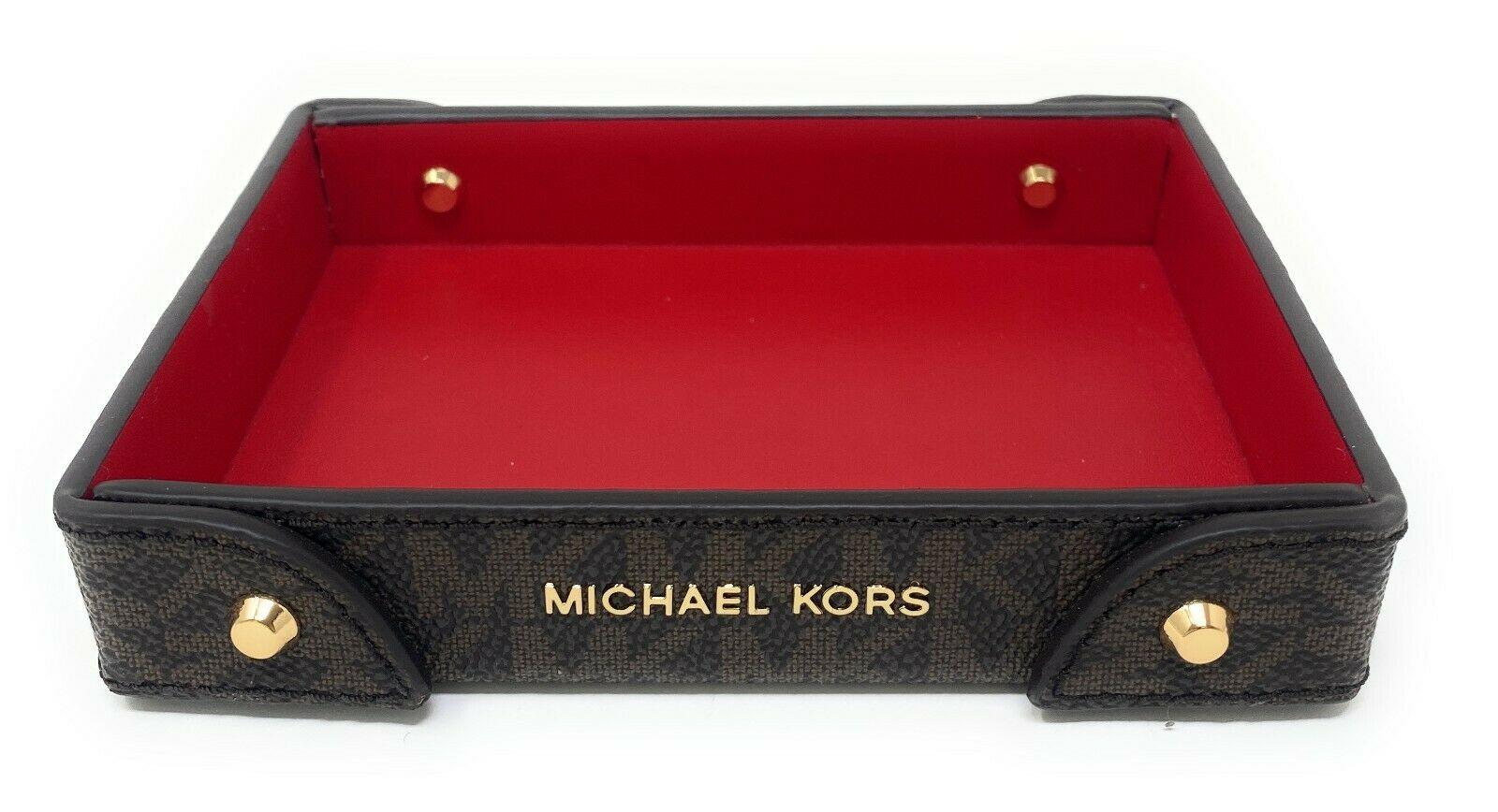 thumbnail 6 - Michael Kors Small Logo Travel Tray Signature Monogram (Select Color)