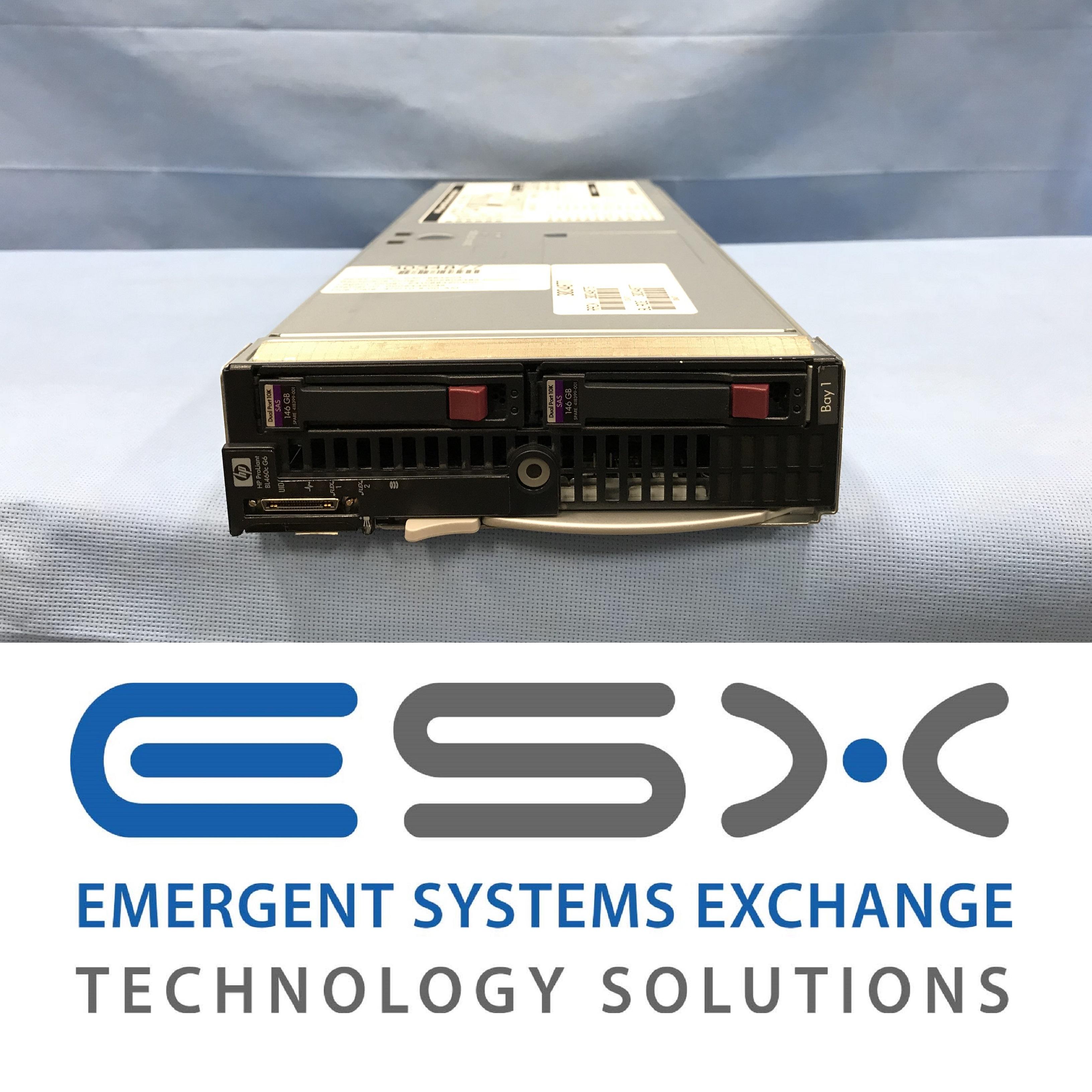 HP Proliant DL360 G6 SERVER 2x 6 CORE L5640 2.26GHz 8GB RAM 2x 146GB 10K SAS