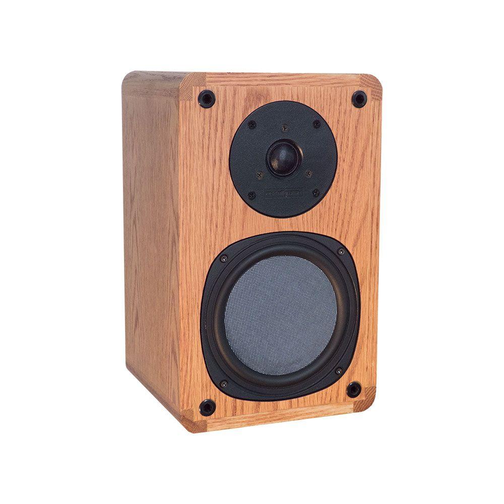 Phase Tech 6 5 Oak Bookshelf Speaker W Tweeter 4 Ohm 150w Home