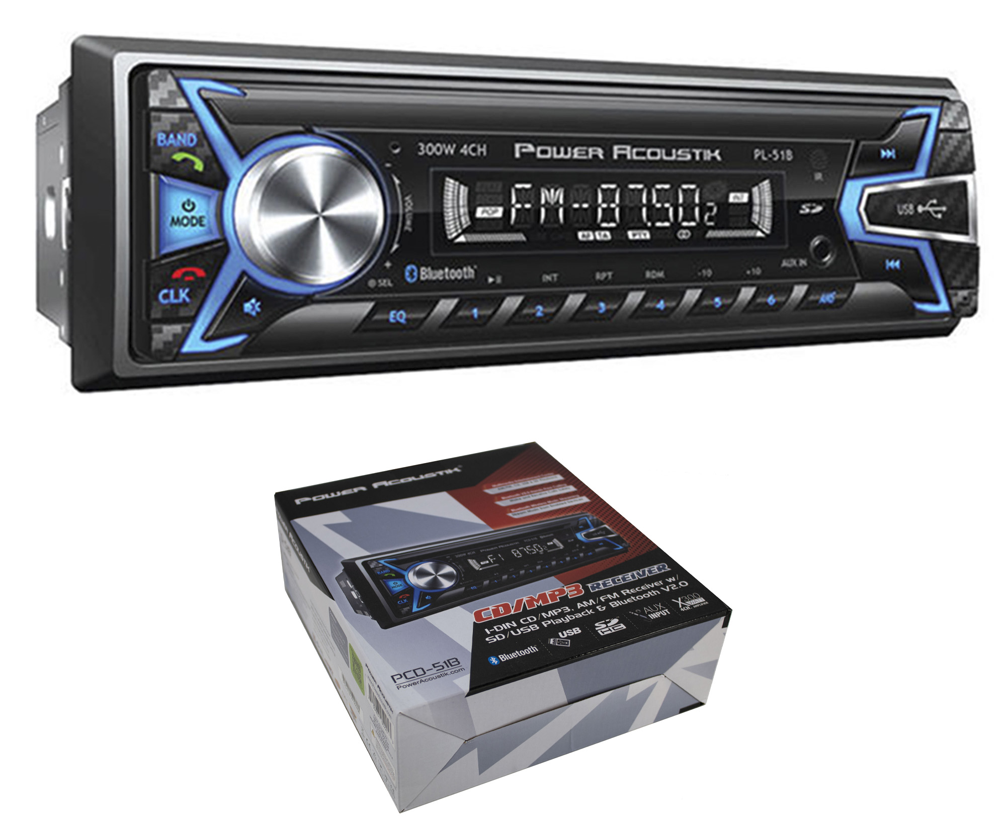 Single DIN A2DP Car Stereo Audio InDash FM//SD//USB//MP3 Radio Player w// Remote USA