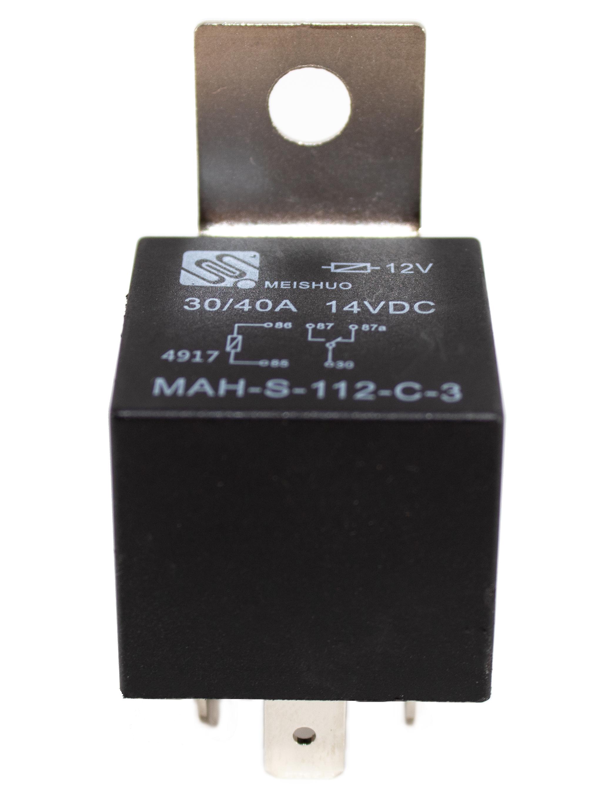 2pcs Sealed Relay 12v 5 Pin Spdt 30  40 Amp Gold Automotive
