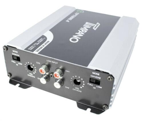800w Digital Mini 4 Channel Amplifier 2 Ohm Micro Car Audio Amp Timpano Tpt800 4