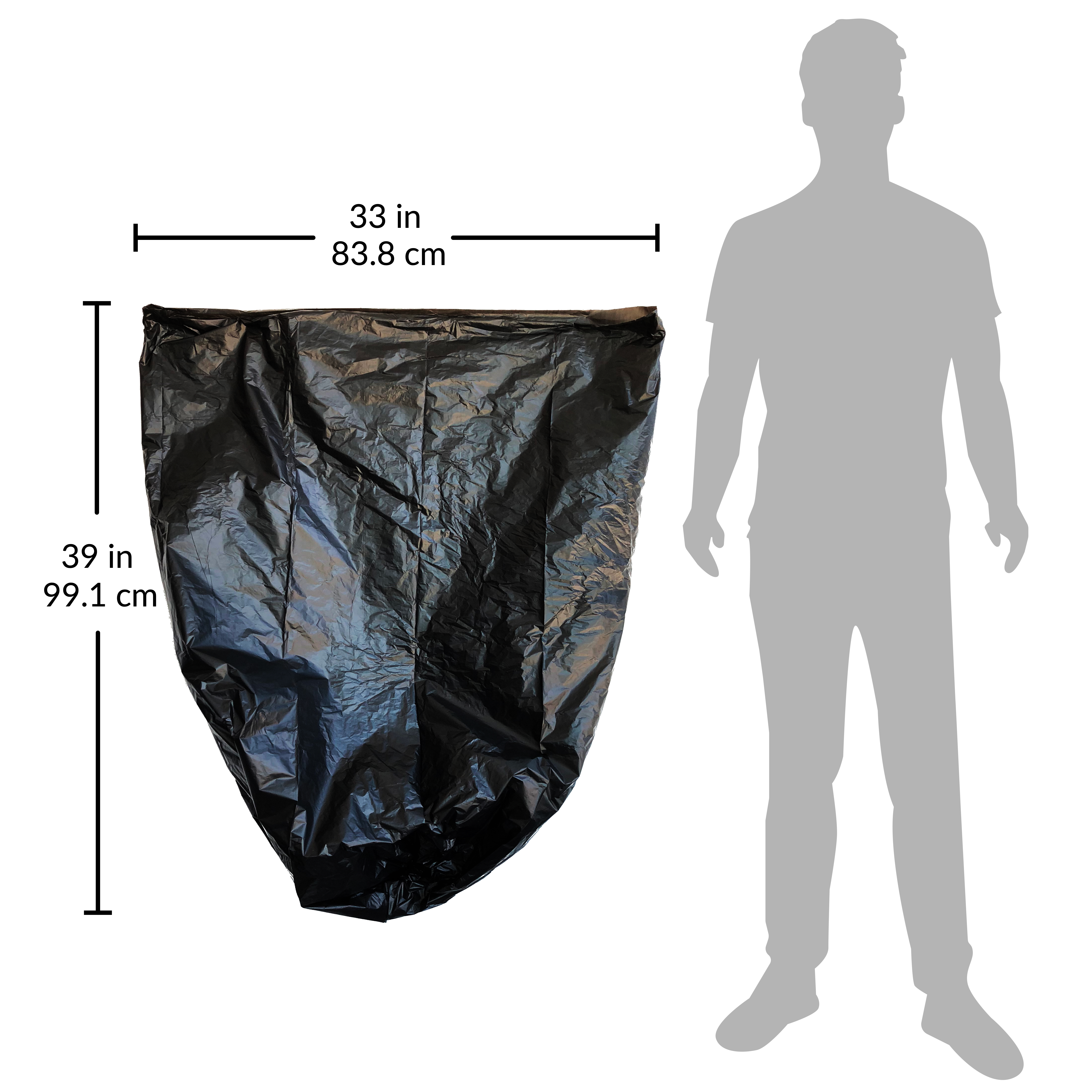 Reli-Recyclable-Eco-Friendly-Trash-Bags-33-Gallon-150-Count-SCS-Certified thumbnail 5