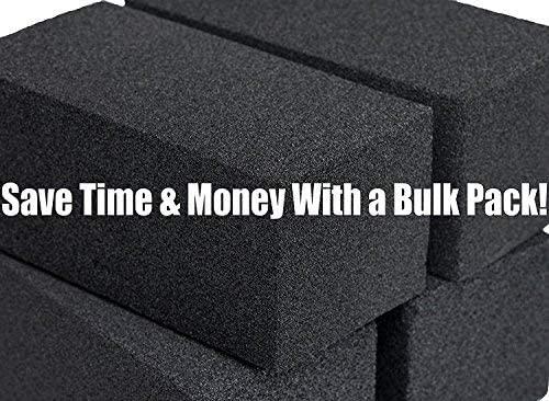 miniature 5 - 8x4 Heavy-Duty Grill Cleaning Brick Multipack, Non-Scratch Black Pumice Stone