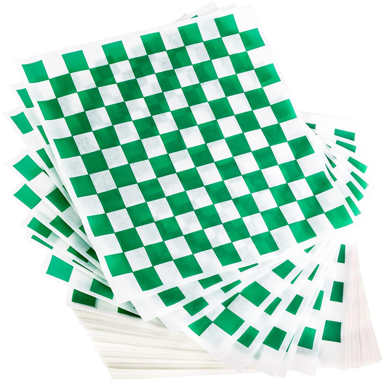 miniature 33 - [300 Pack] Retro Deli Sandwich Liner 15x15 Wax Patty Paper Sheets by Avant Grub