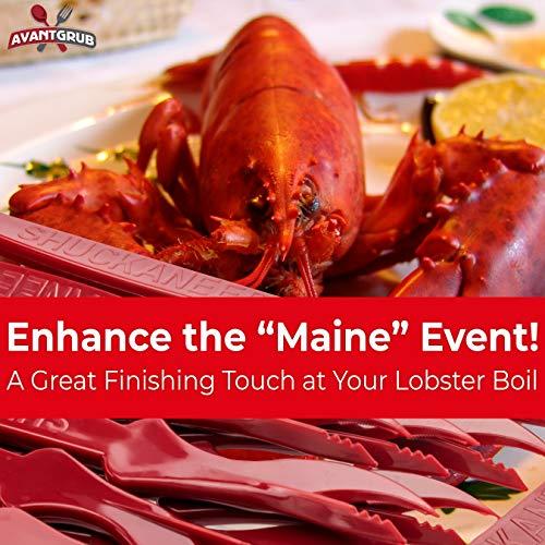 miniature 7 - 2-in-1 Shuckaneer Crab Sheller Seafood Tool Set for Crab & Crawfish Boil