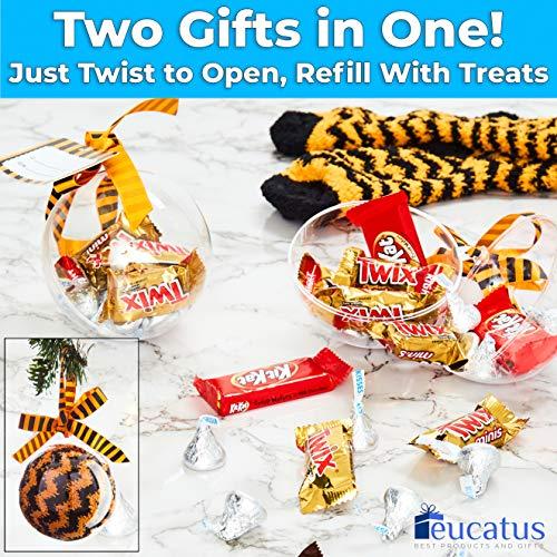 miniature 21 - Super Soft, Fuzzy Halloween Spa Socks in Gift Ornament, Womens Size 6-10