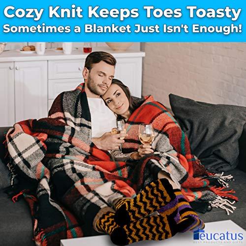 miniature 22 - Super Soft, Fuzzy Halloween Spa Socks in Gift Ornament, Womens Size 6-10