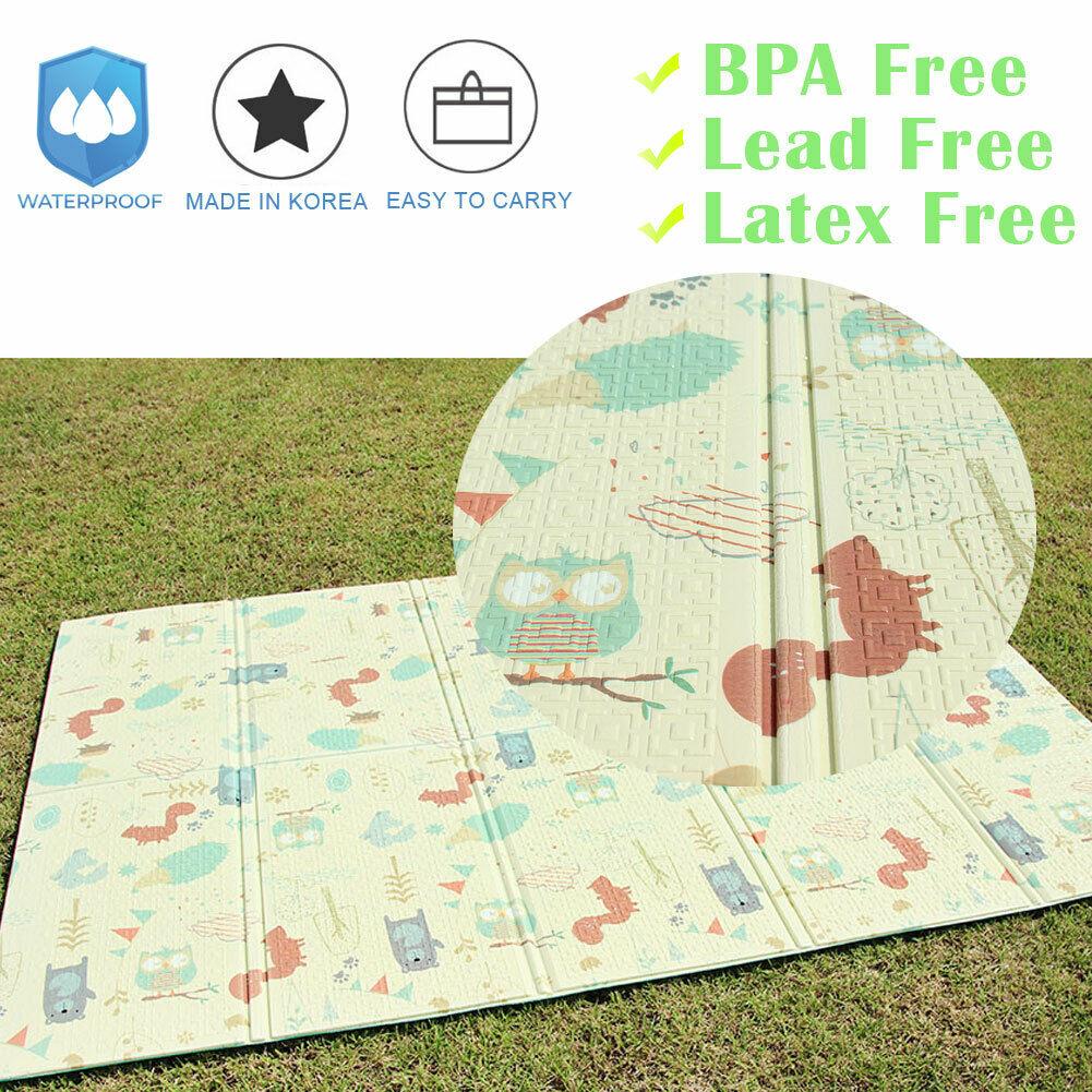 Play Mat Non Toxic Folding Floor