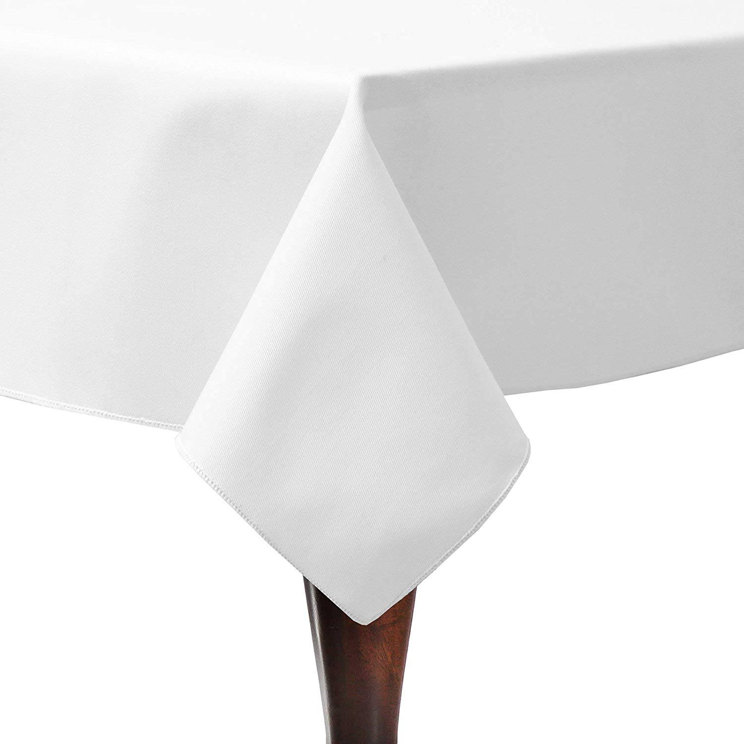 Ultimate Textile Poly-Cotton Twill 60 x 108-Inch Rectangular