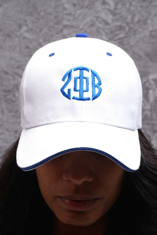 Phi Zeta Beta Fashion Classic Wild Baseball Cap Men and Women Navy