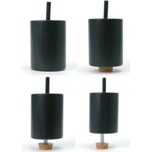 Leg-Daddy-3-1-4-034-4-034-Adjustable-Black-Cylindrical-Sofa-Leg-Set-of-2 thumbnail 7