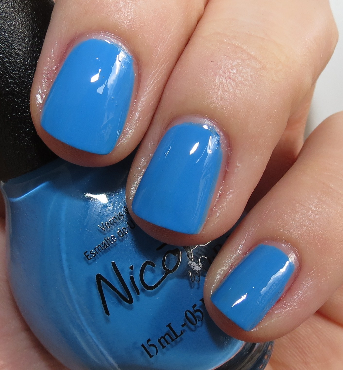 Nicole by OPI Nail Polish Lacquer I Sea You and Raise Light Blue ...
