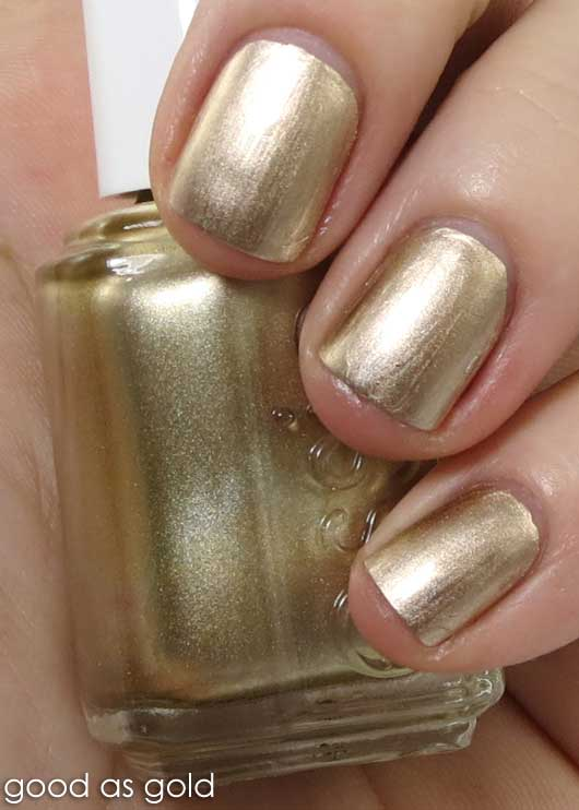 Essie Good As Gold, Free Shipping at Nail Polish Canada