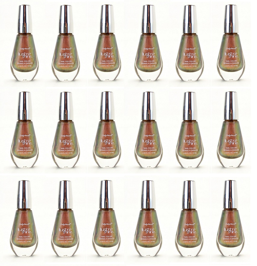 Sally Hansen Lustre Shine Nail Polish, 005 Plume CHOOSE YOUR PACK