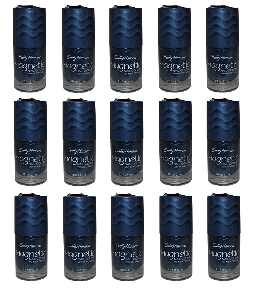 Sally Hansen Magnetic Nail Polish, 106 Ionic Indigo Choose Your Pack