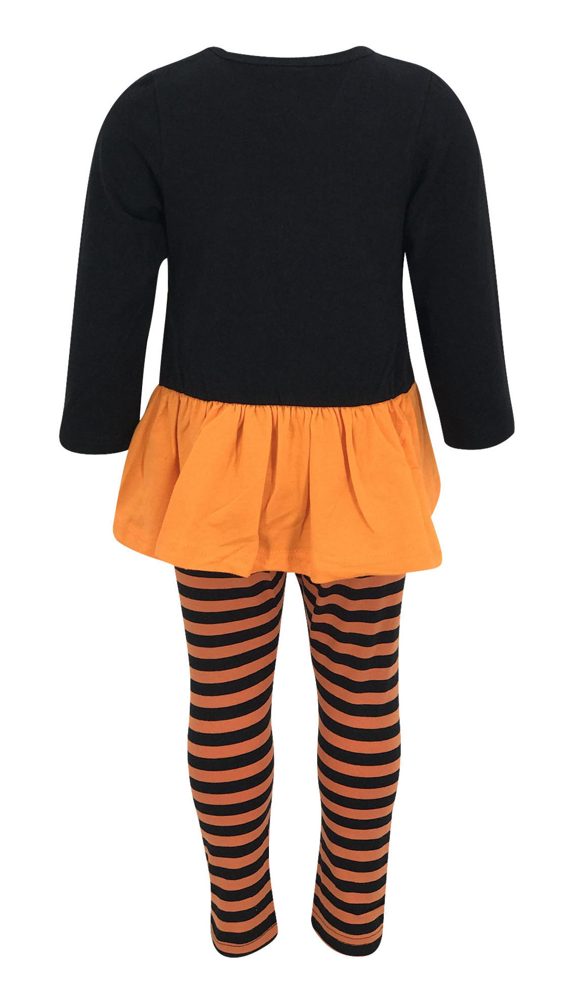 9d349ce50cc6 Girls Cat Halloween Costume Outfit Boutique Toddler Kids Clothes Top ...