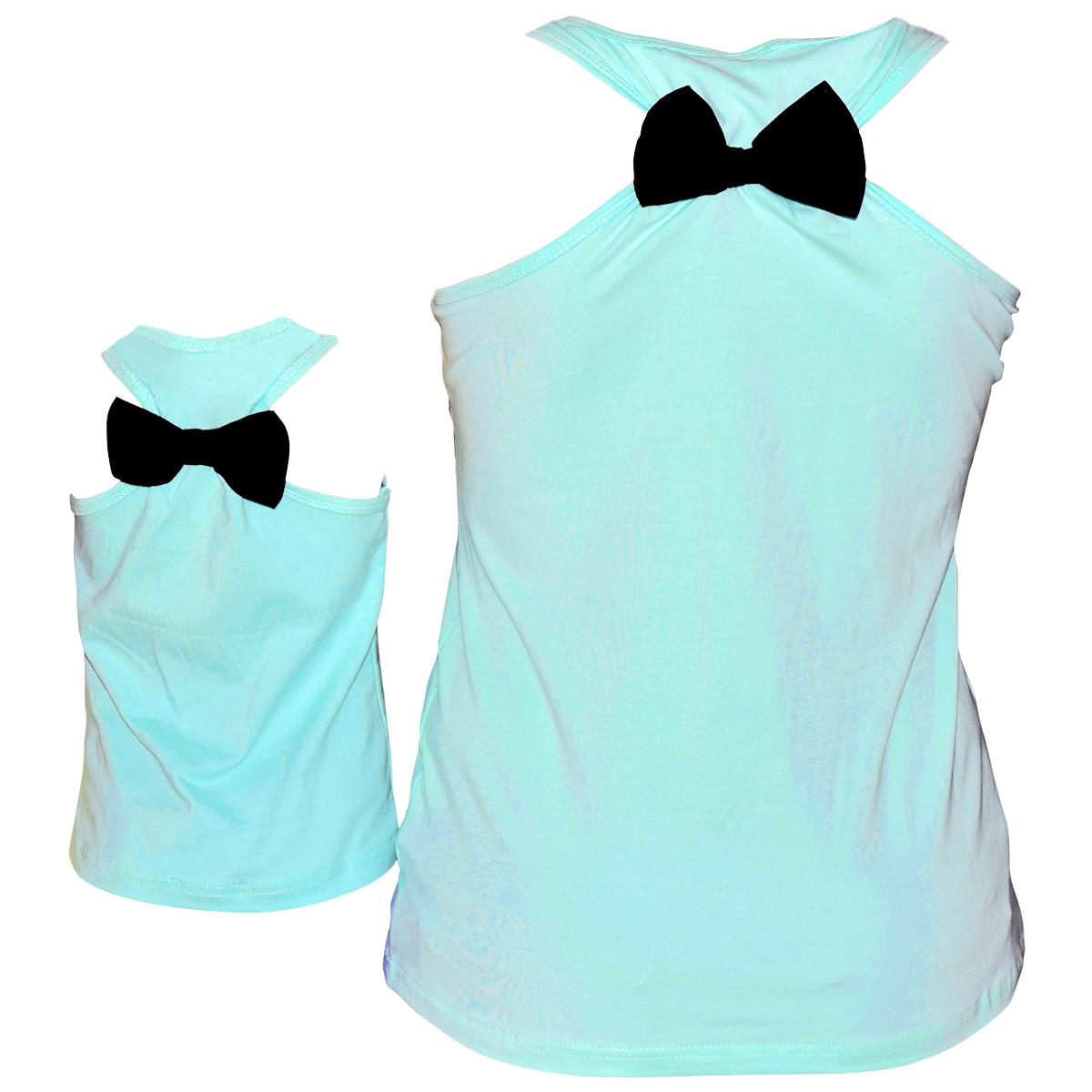 07e263beaae15 Mothers Day Gift Matching Mommy   Me Racerback Anchor Tank Girls 2t ...