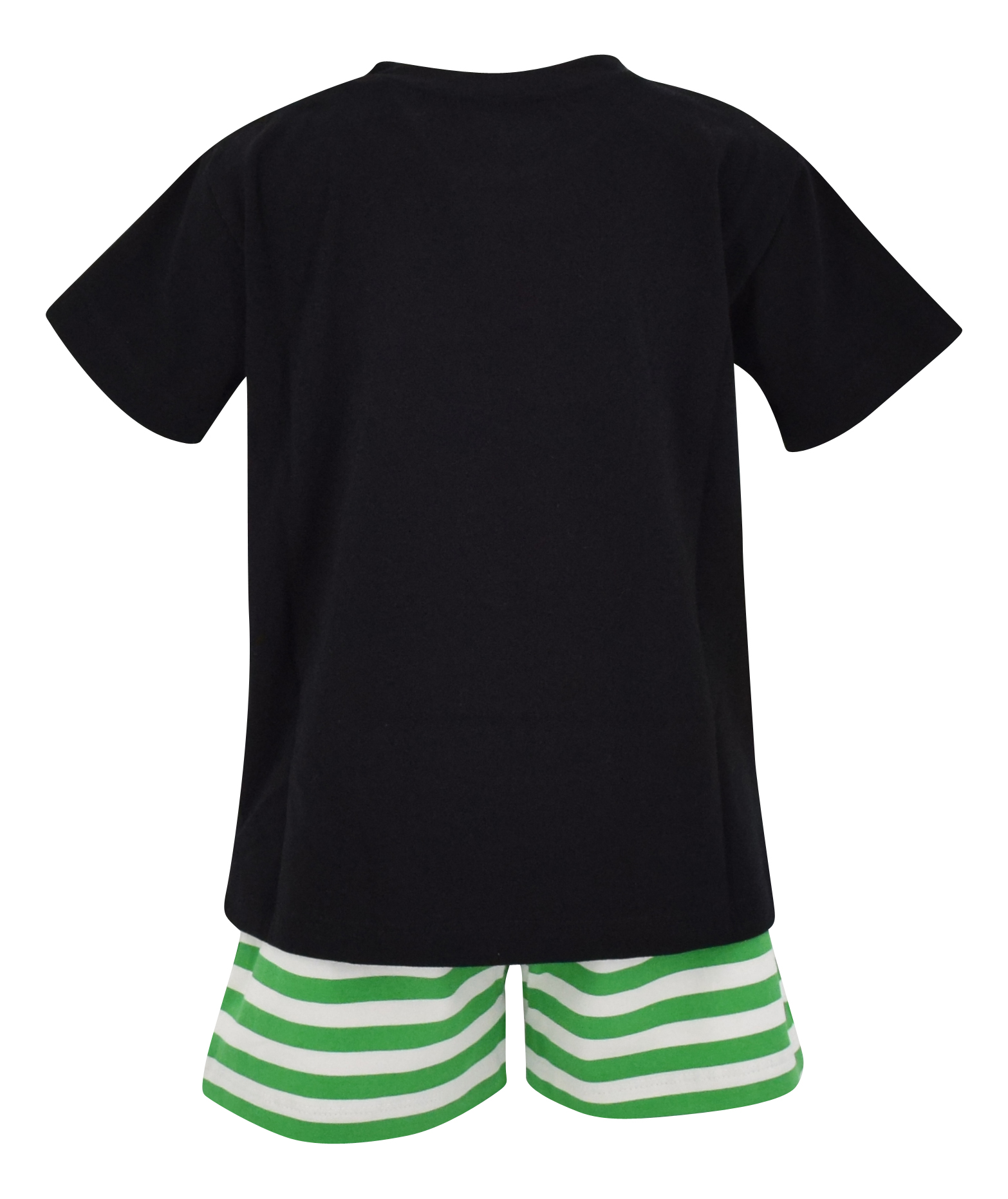 Boys-2-Piece-ST-Patricks-Day-Clover-Outfit-2t-3t-4t-5-6-7-8-Toddler-Kids-Clothes thumbnail 9