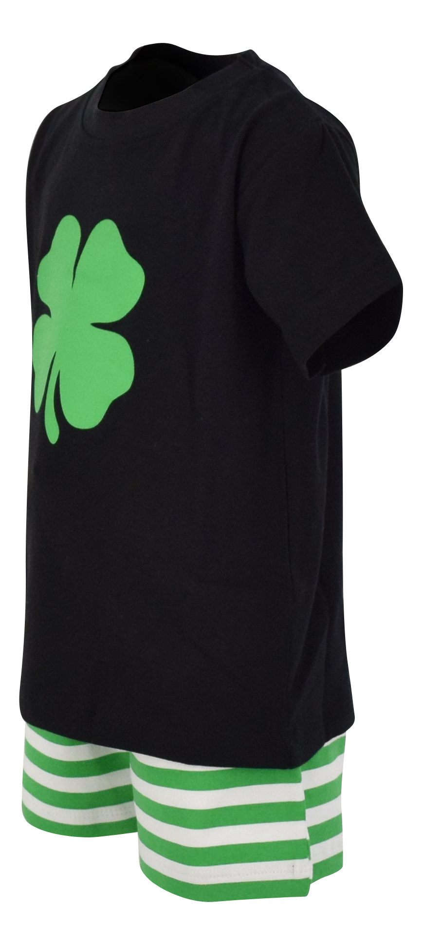 Boys-2-Piece-ST-Patricks-Day-Clover-Outfit-2t-3t-4t-5-6-7-8-Toddler-Kids-Clothes thumbnail 8