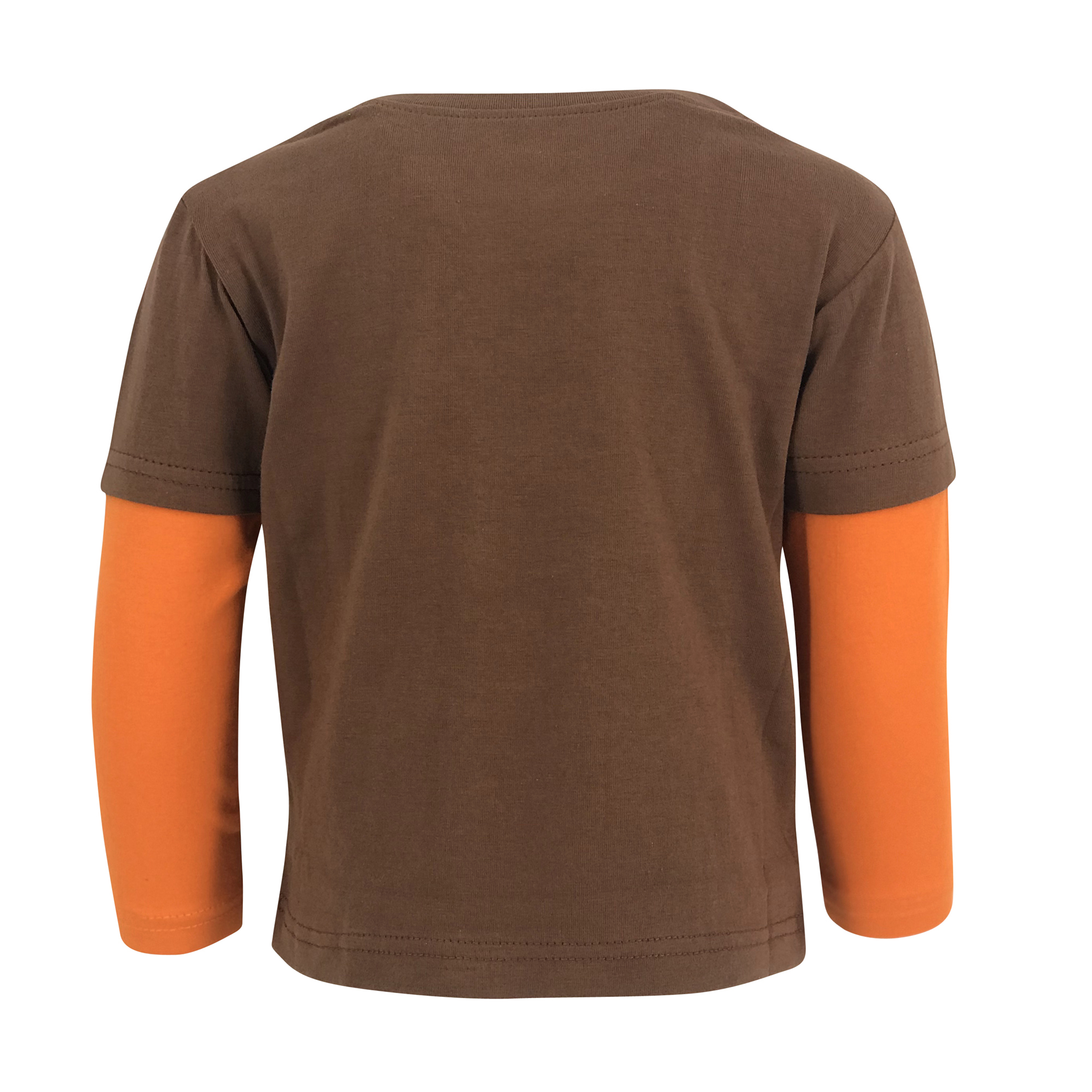 Boys Turkey Gobble Thanksgiving Long Sleeve T Shirt Infant