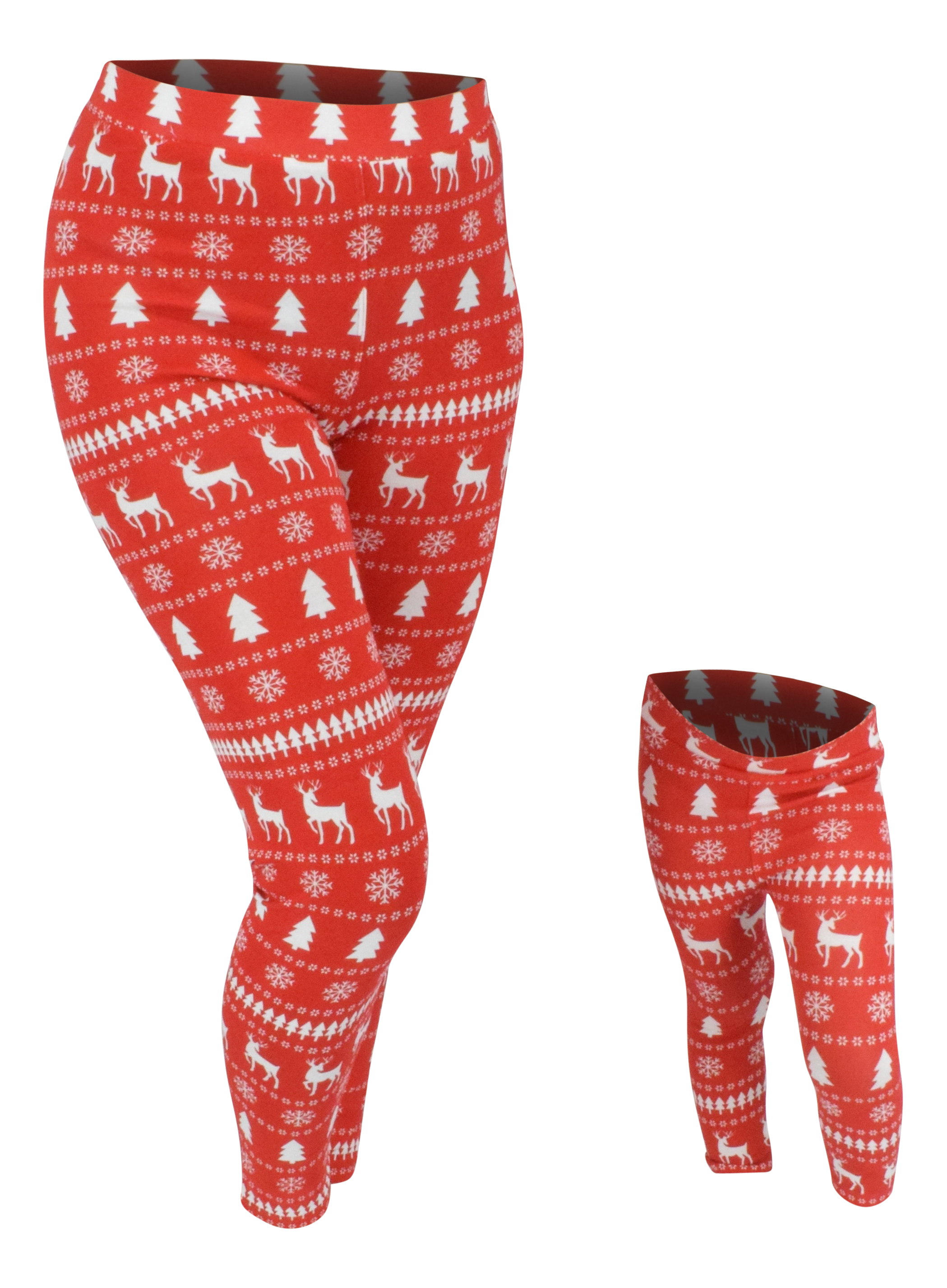 UB Winter Print Matching Family Christmas Pajama Pants ...