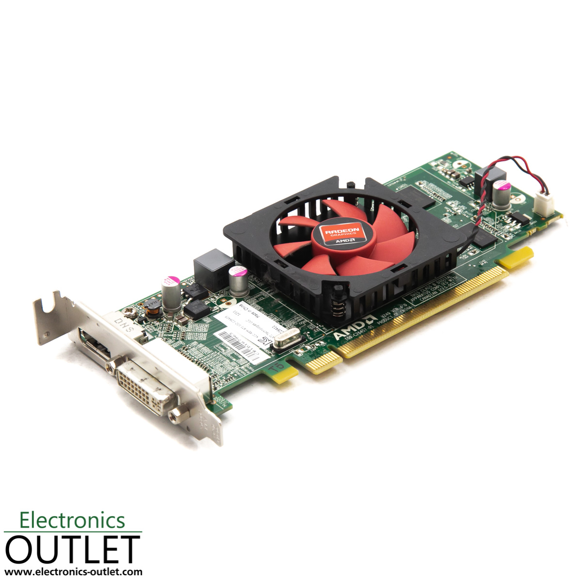 Amd Ati Radeon Hd 6450 C264 1gb Ram Pci E X16 Low Profile Dvi Displayport Ebay