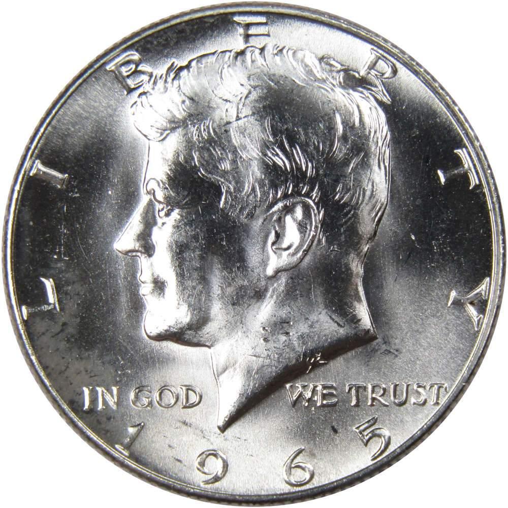 1983 P 50c Kennedy Half Dollar US Coin BU Uncirculated Mint State