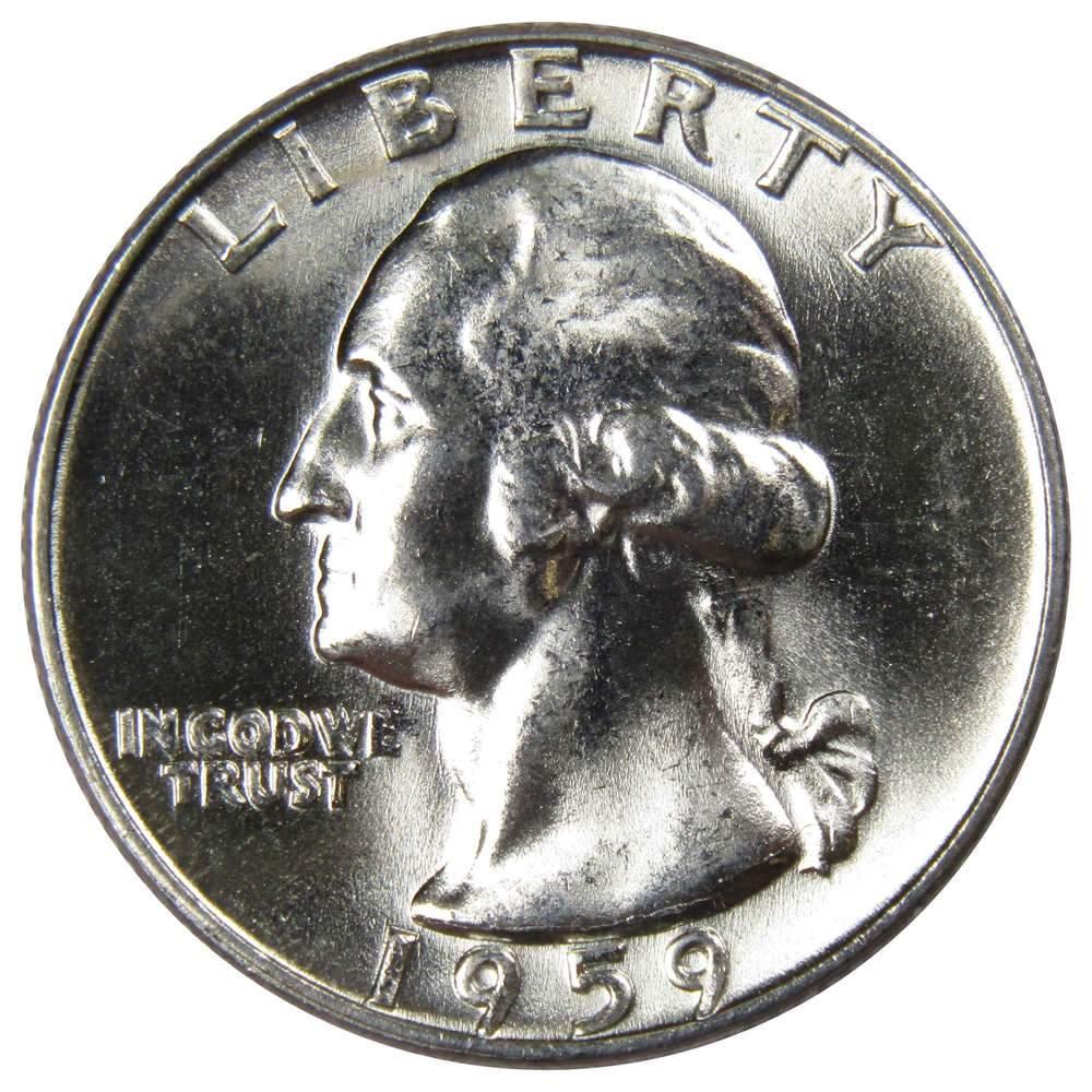 UN-Circulated... 1962-D   US   Silver  Washington  Quarter  ..